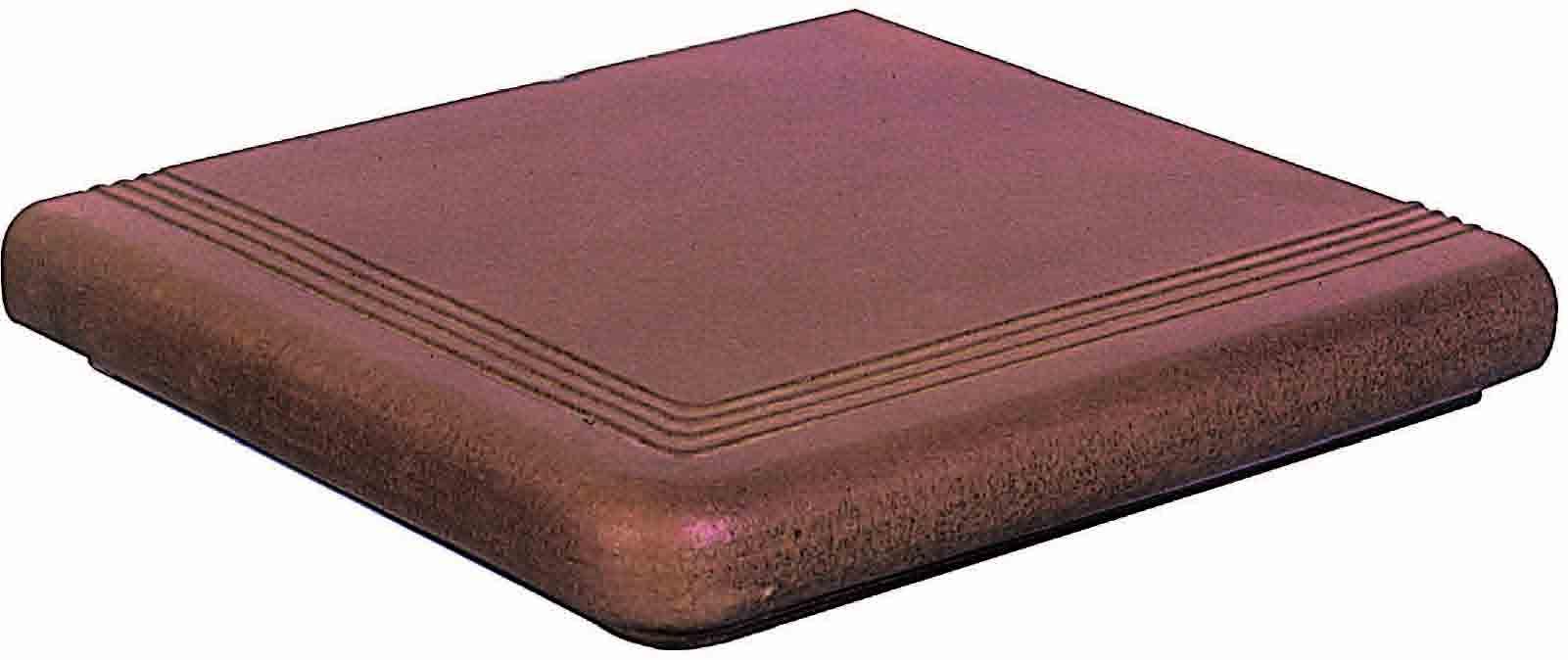 Esquina Florentina Tabaco Угловая ступень 0276421 33,3x33,3x5,4 ступень gres de aragon rocks esquina arena 33x33