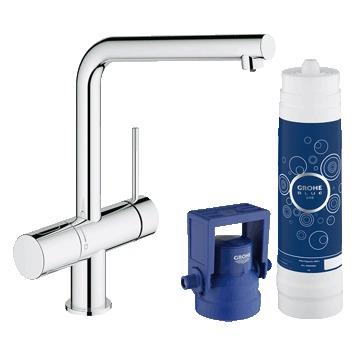 Смеситель Grohe Blue 31345002 для кухни смеситель для кухни grohe blue pure 33249001