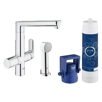 Смеситель Grohe Blue 31354001 для кухни смеситель для кухни grohe grohe blue pure 31299001