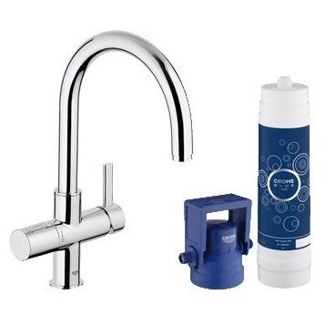 Смеситель Grohe Blue 33249001 для кухни щиты для кухни
