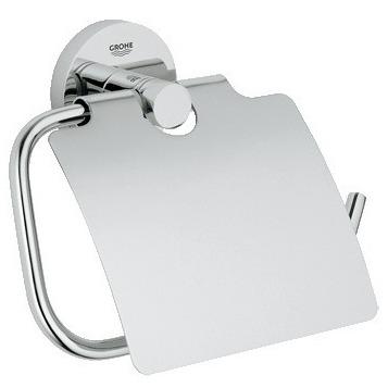 Держатель для туалетной бумаги Grohe Essentials 40367001 держатель туалетной бумаги bemeta с крышкой 118112012
