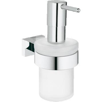 Дозатор для жидкого мыла Grohe Essentials Cube 40756001 дозатор для жидкого мыла primanova greekey 8 2 18 5 см