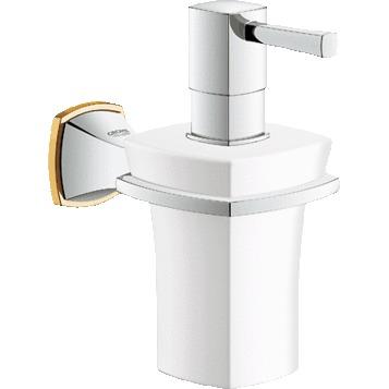 Дозатор для жидкого мыла Grohe Grandera 40627IG0 дозатор для жидкого мыла primanova greekey 8 2 18 5 см