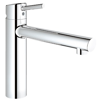 Смеситель Grohe Concetto 31128001 для кухни смеситель для кухни grohe grohe blue pure 31299001