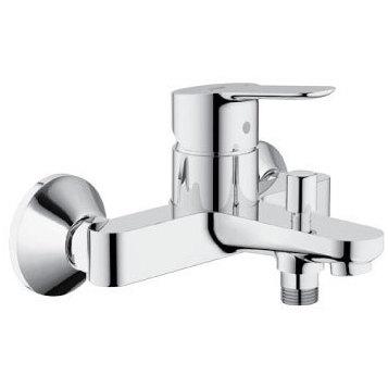Смеситель Grohe BauEdge 23334000 для ванны смеситель для ванны grohe bauedge со встраиваемым механизмом 29079000
