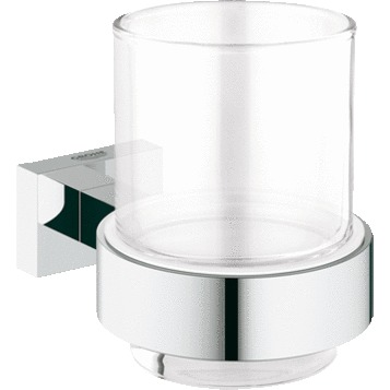 Стакан Grohe Essentials Cube 40755001 стакан grohe essentials настенный хром