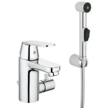 Смеситель Grohe Eurosmart Cosmopolitan 23433000 для раковины смеситель с гигиеническим душем grohe eurosmart хром 23124002