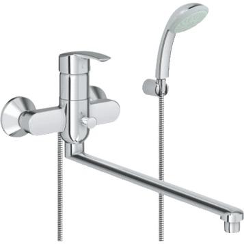 Смеситель Grohe Multiform 32708000 для ванны смеситель для ванны vidima уно с прямоугольным поворотным изливом с душевым гарнитуром ba320aa