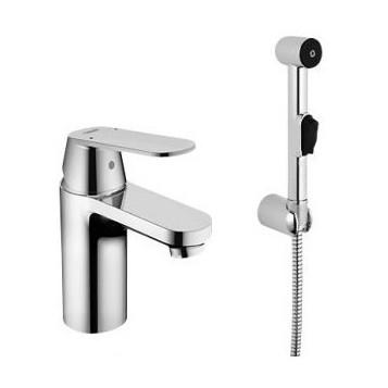 Смеситель Grohe Eurosmart Cosmopolitan 23125000 для раковины смеситель для ванны с душем grohe eurosmart cosmopolitan 32831000 хром