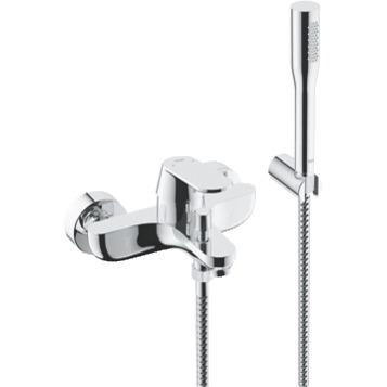 Смеситель Grohe Eurosmart Cosm 32832000 для ванны смеситель для ванны vidima уно с прямоугольным поворотным изливом с душевым гарнитуром ba320aa