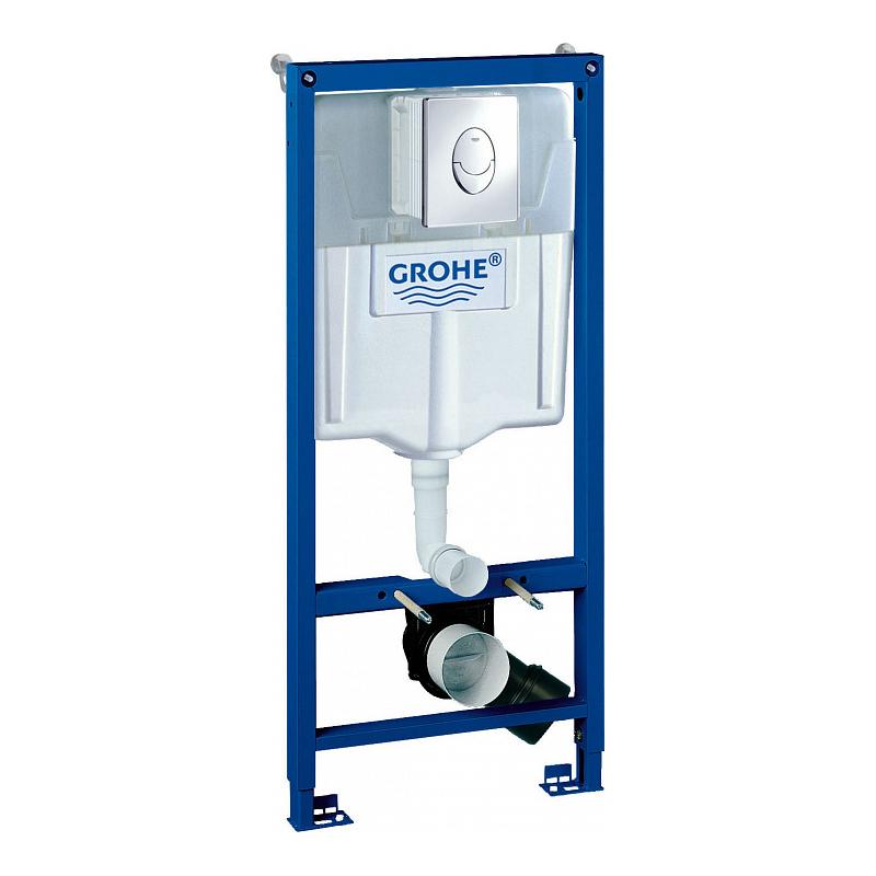 Инсталляция для унитаза Grohe Rapid SL 38721001 инсталляция grohe rapid sl для унитаза усиленная 38584001