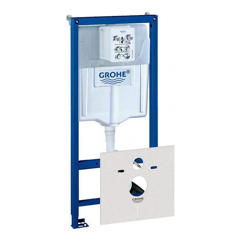 Инсталляция для унитаза Grohe Rapid SL 38539001 инсталляция grohe rapid sl для унитаза усиленная 38584001