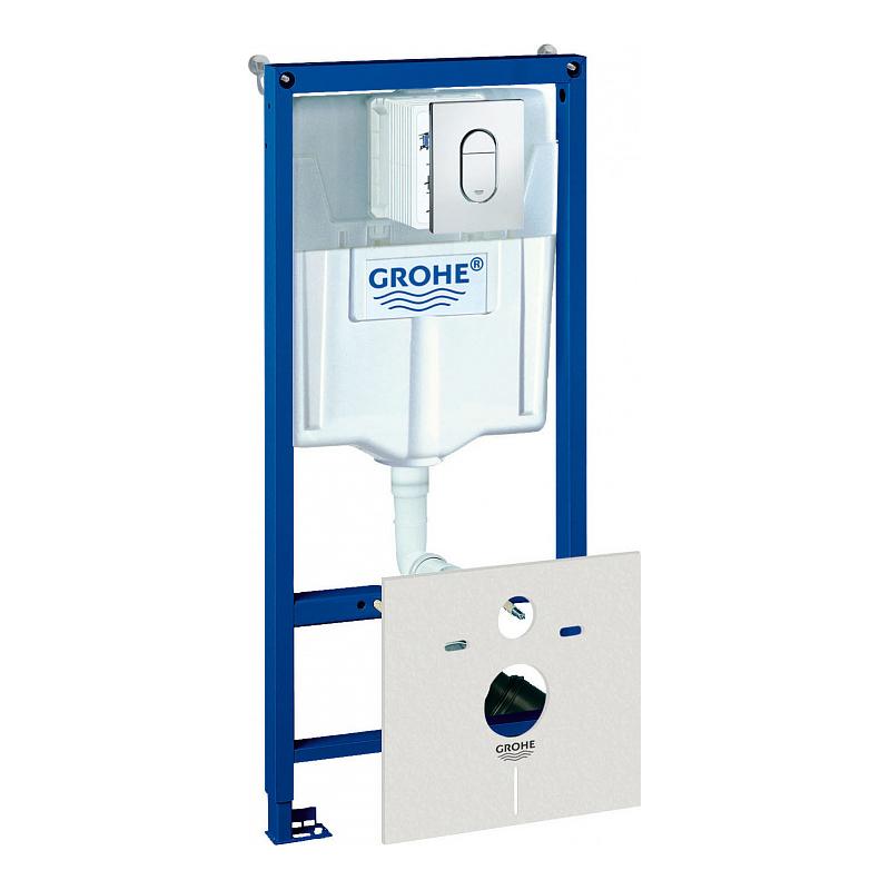 Инсталляция для унитаза Grohe Rapid SL 38929000 инсталляция grohe rapid sl для унитаза усиленная 38584001