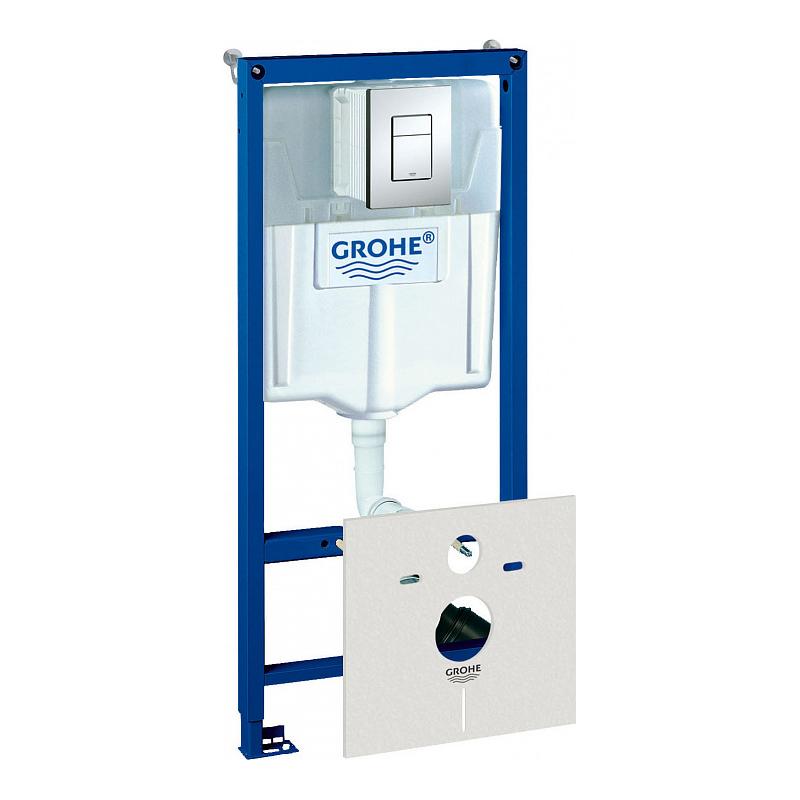 Инсталляция для унитаза Grohe Rapid SL 38775001 инсталляция grohe rapid sl для унитаза усиленная 38584001