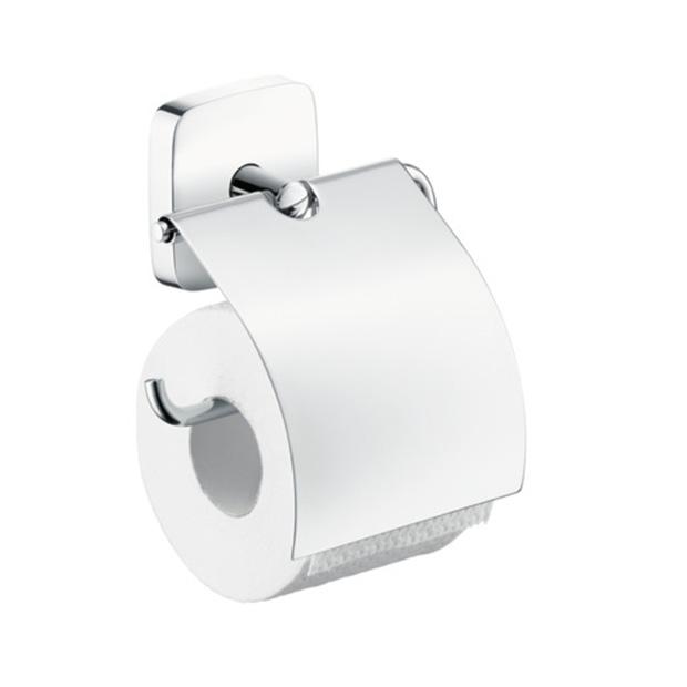 Держатель для туалетной бумаги Hansgrohe PuraVida 41508000 держатель для туалетной бумаги с крышкой пластик