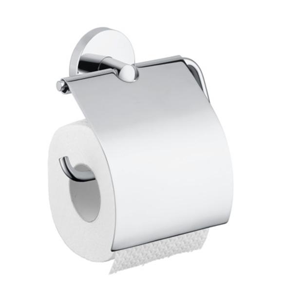 Держатель для туалетной бумаги Hansgrohe Logis 40523000 держатель для туалетной бумаги с крышкой пластик