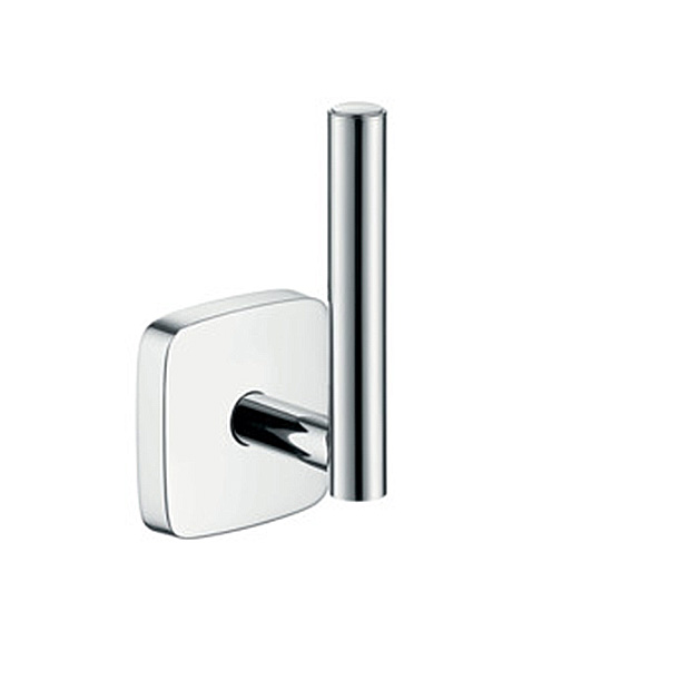 Держатель для туалетной бумаги Hansgrohe PuraVida 41518000 держатель туалетной бумаги kludi ambienta для запасного рулона туалетной бумаги 5397205