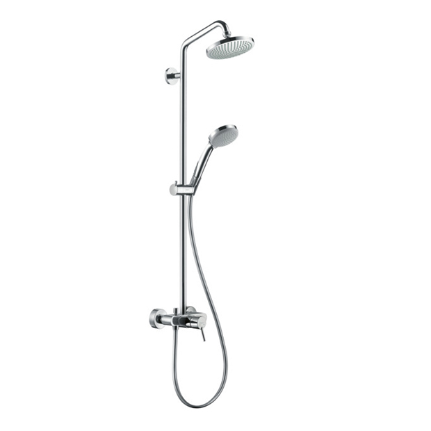 Душевая стойка Hansgrohe Croma 100 Showerpipe 160 27154000 цена и фото