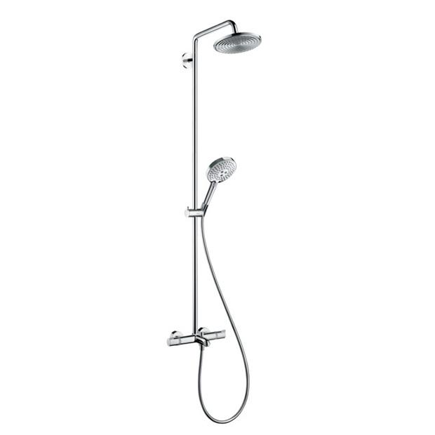 Душевая стойка Hansgrohe Raindance Select Showerpipe 240 27117000 стойка душевая hansgrohe raindance select showerpipe 240 27115000