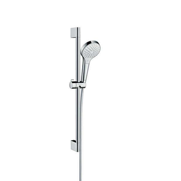 Душевой гарнитур Hansgrohe Croma 110 Select S Vario 26562400 белый хром набор душевой croma 100 vario