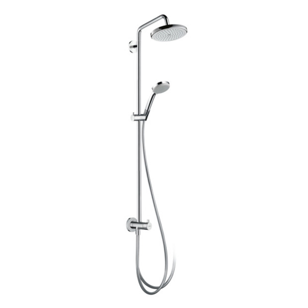 Душевой гарнитур Hansgrohe Croma 220 Showerpipe Reno 27224000 цена