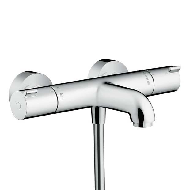Смеситель Hansgrohe Ecostat 1001 CL 13201000 для ванны смеситель для ванны hansgrohe ecostat 13141400