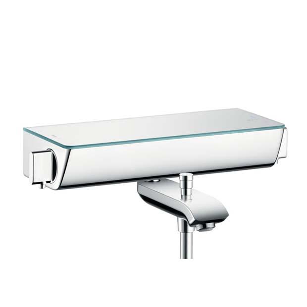 Смеситель Hansgrohe Ecostat Select 13141000 для ванны смеситель для ванны hansgrohe ecostat 13141400