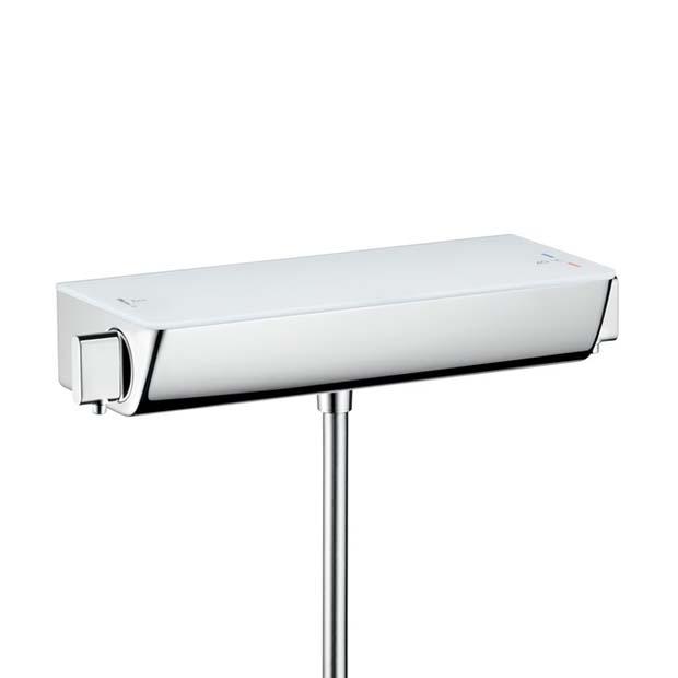 Смеситель Hansgrohe Ecostat Select 13141400 для ванны термостат hansgrohe metris ecostat e highflow