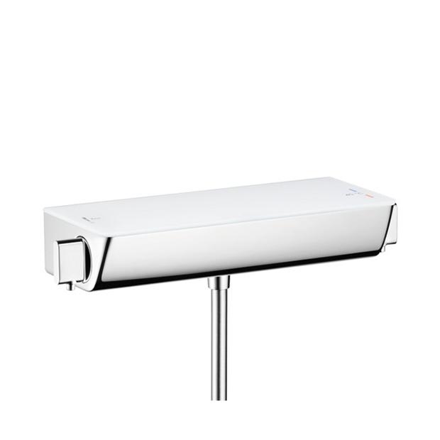 Смеситель Hansgrohe Ecostat Select 13161400 для душа термостат для душа hansgrohe ecostat select 13161000