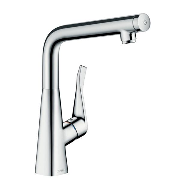 Смеситель Hansgrohe Metris Select 14883000 для кухни смеситель однорычажный hansgrohe metris 31280000