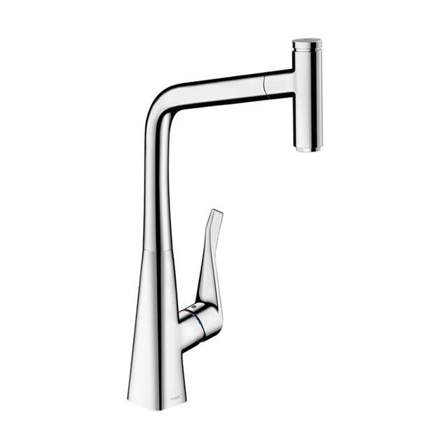 Смеситель Hansgrohe Metris Select 14884000 для кухни смеситель однорычажный hansgrohe metris 31280000