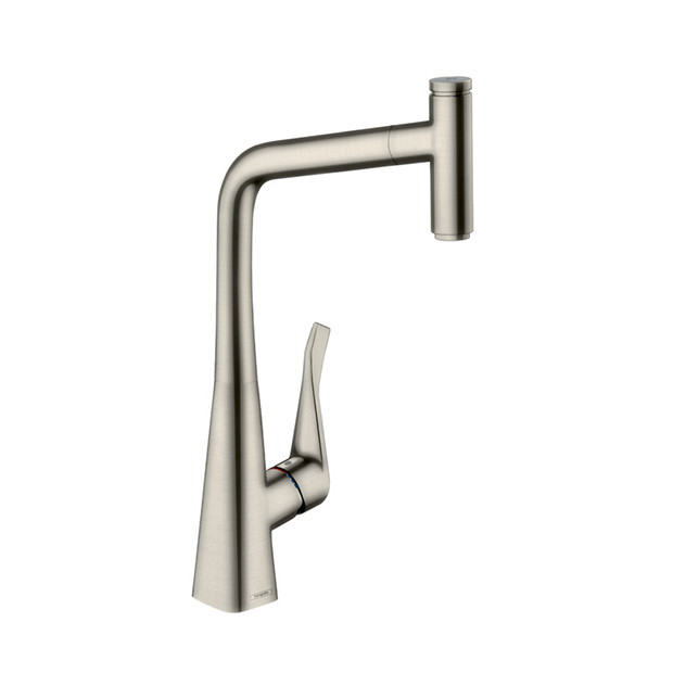 Смеситель Hansgrohe Metris Select 14884800 для кухни смеситель однорычажный hansgrohe metris 31280000