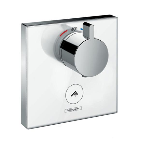 Смеситель Hansgrohe ShowerSelect 15735400 (внешняя часть) для душа переключатель внешняя часть hansgrohe showerselect на 3 потребителя 15764000