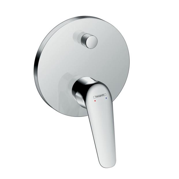 Смеситель Hansgrohe Novus 71045000 (внешняя часть) для ванны степлер электрический novus j155 a 031 0298