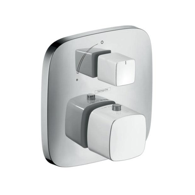 Смеситель Hansgrohe PuraVida 15775400 (внешняя часть) для ванны смеситель для ванны hansgrohe puravida к ibox universal 15445400