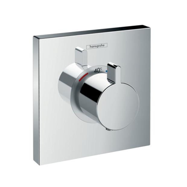 Смеситель Hansgrohe ShowerSelect Highfow 15760000 (внешняя часть) для душа переключатель внешняя часть hansgrohe showerselect на 3 потребителя 15764000