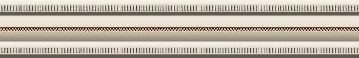 Бордюр Heralgi Garden Listelo Classic Crema 4х30 5840c 4х30 мм