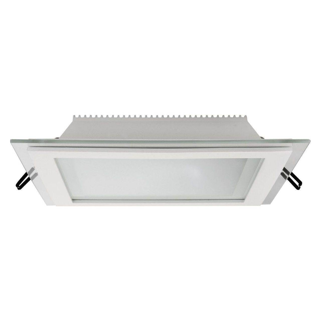Встраиваемый светодиодный светильник Horoz 15W 3000K белый 016-015-0015 (HL686LG) встраиваемый светодиодный светильник horoz 15w 6000к белый 016 017 0015 hl6756l