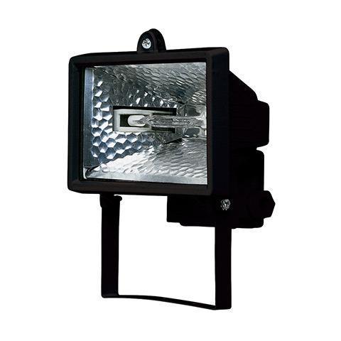 Прожектор галогенный Horoz 150W черный 065-001-0150 (HL100)
