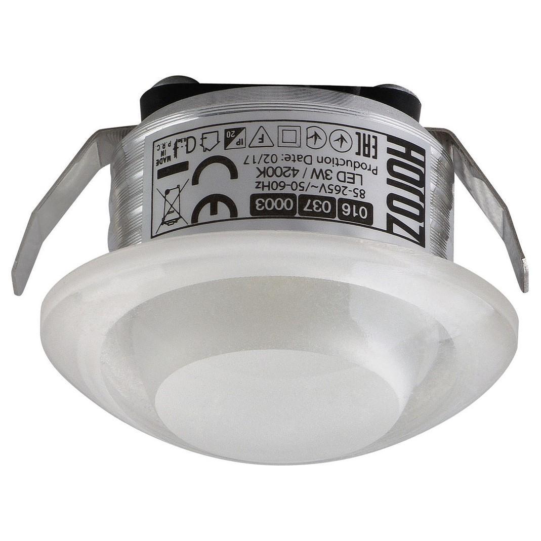 Фото - Встраиваемый светодиодный светильник Horoz Rita 3W 4200К 016-037-0003 certina c001 647 16 037 01