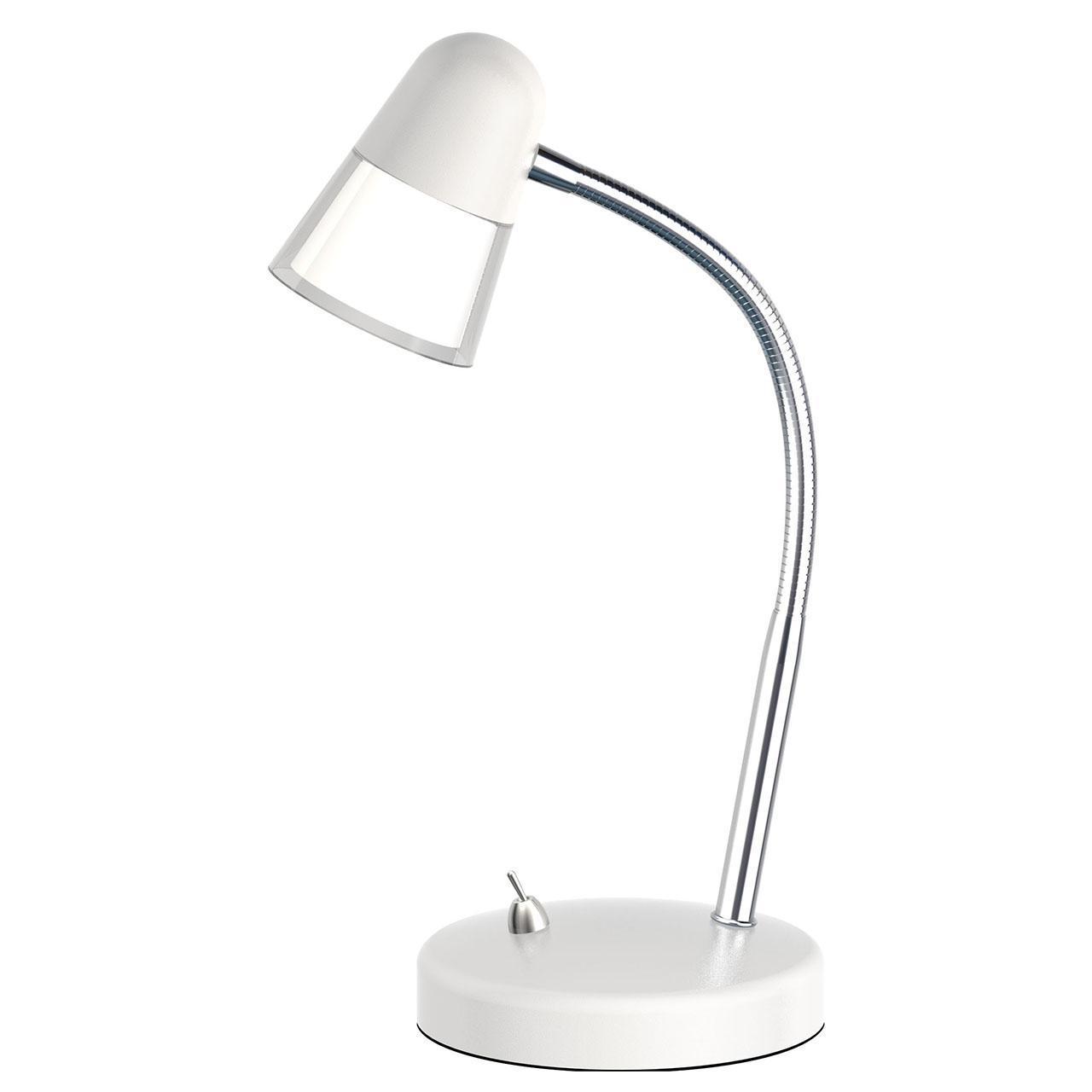 Настольная светодиодная лампа Horoz Buse белая 049-007-0003 (HL013L) цена