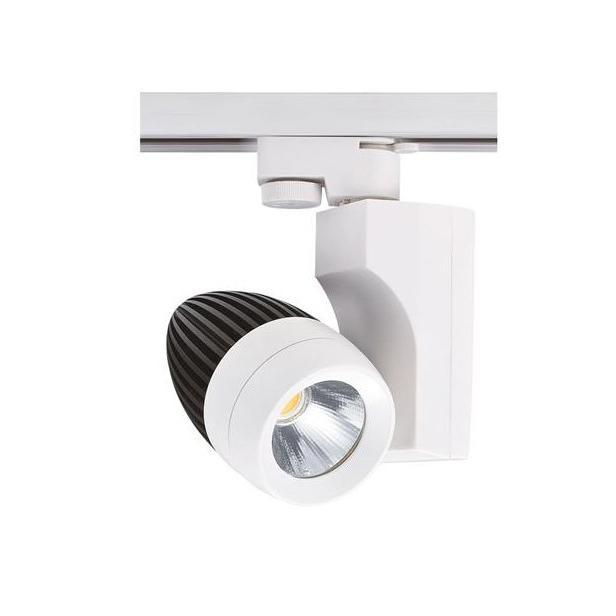 Трековый светодиодный светильник Horoz 23W 4200K белый 018-006-0023 (HL830L) horoz трековый светодиодный светильник horoz venedik 23 hl830l 23w 4200k белый 018 006 0023 hrz00000866