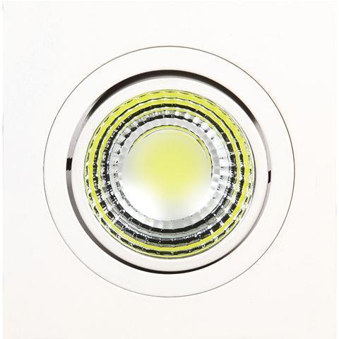 Встраиваемый светодиодный светильник Horoz 5W 2700К белый 016-021-0005 (HL6701L) встраиваемый светодиодный светильник horoz 5w 6400к белый 016 021 0005 hl6701l
