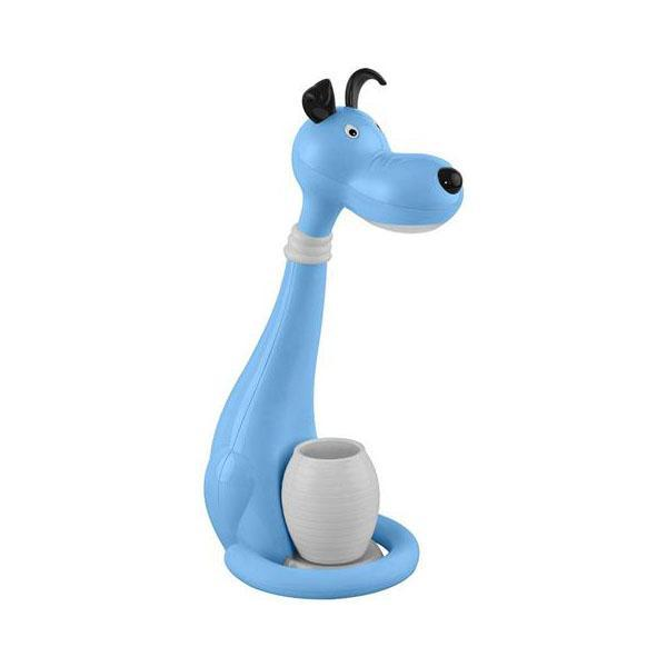 Настольная лампа Horoz Snoopy синяя 049-029-0006 цена