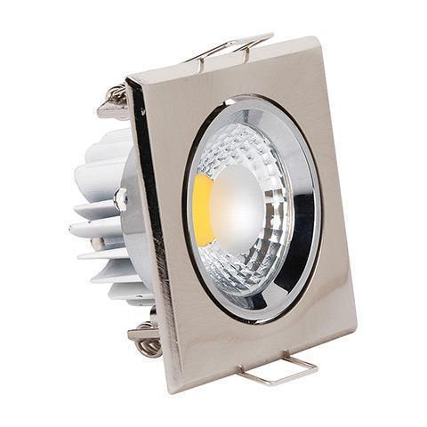 Встраиваемый светодиодный светильник Horoz 3W 6500К белый 016-007-0003 (HL678L) встраиваемый светодиодный светильник horoz 3w 6500к белый 016 009 0003 hl698le