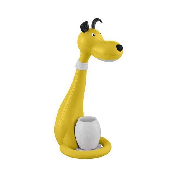 Настольная лампа Horoz Snoopy желтая 049-029-0006 цена