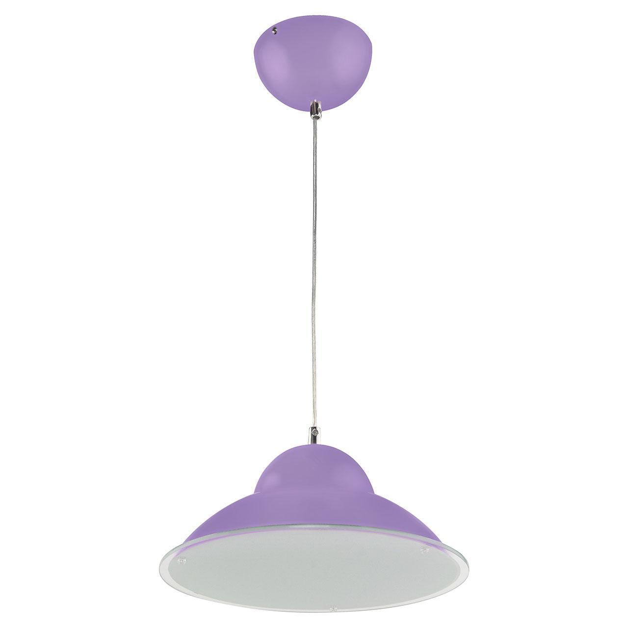 Подвесной светодиодный светильник Horoz фиолетовый 020-005-0015 horoz подвесной светодиодный светильник horoz alya 15w 4000к ip20 розовый 020 005 0015 hrz00000785