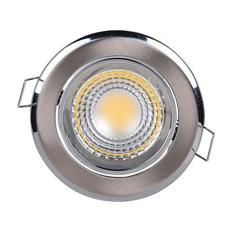 Встраиваемый светодиодный светильник Horoz 3W 2700К хром 016-008-0003 (HL698L) цена