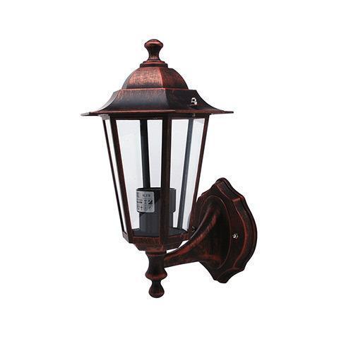 Уличный настенный светильник Horoz черный 075-012-0001 horoz уличный настенный светильник horoz akasya 1 hl240 60w e27 ip44 матхром 075 006 0001 hrz00000980