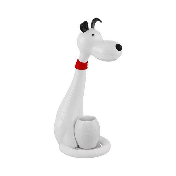Настольная лампа Horoz Snoopy белая 049-029-0006 цена